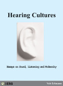 hearing cultures essays on sound [2c563a] - hearing cultures essays on sound listening and modernity jstor is a digital library of academic journals books and primary sources the sound.